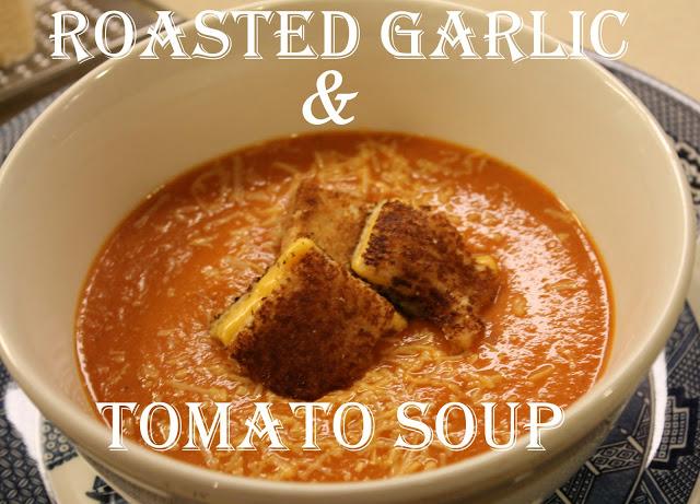 Roasted Garlic Tomato Soup