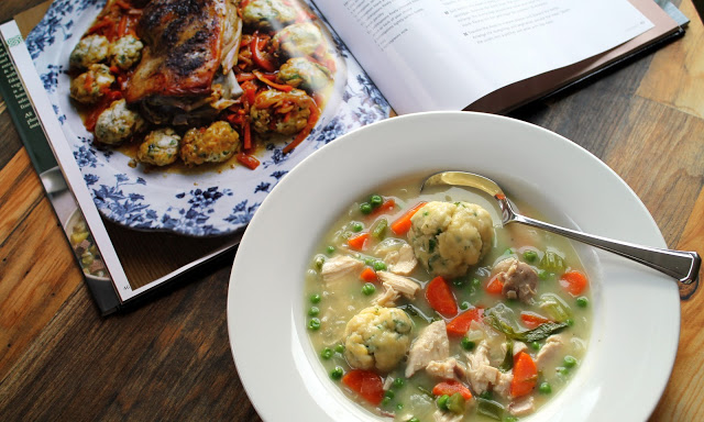 Irish Chicken & Herb Dumplings
