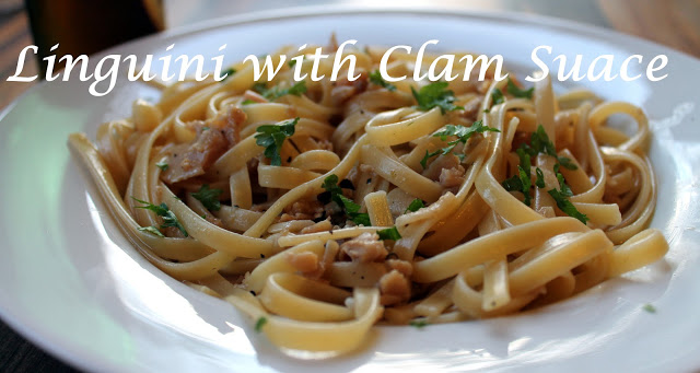 Last Minute Linguine with White Clam Sauce