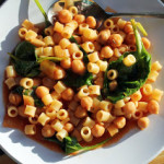 Chickpeas with Spinach & Ditalini