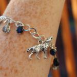 Memorial Wolf Bracelet