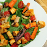 Roasted Vegetable Fall Salad
