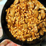 BBQ Baked Beans & Chicken Sausage