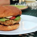 Chicken Caesar Buger