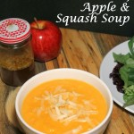 Apple, Squash & Smoked Cheddar Soup