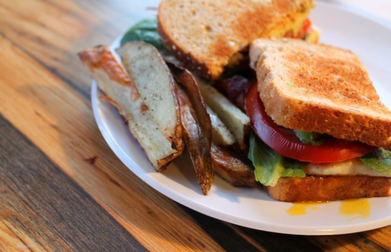 Avocado BLT With Fried Egg And Chipotle Mayo Recipe — Dishmaps