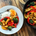 Orange Chipotle Chicken Stir Fry