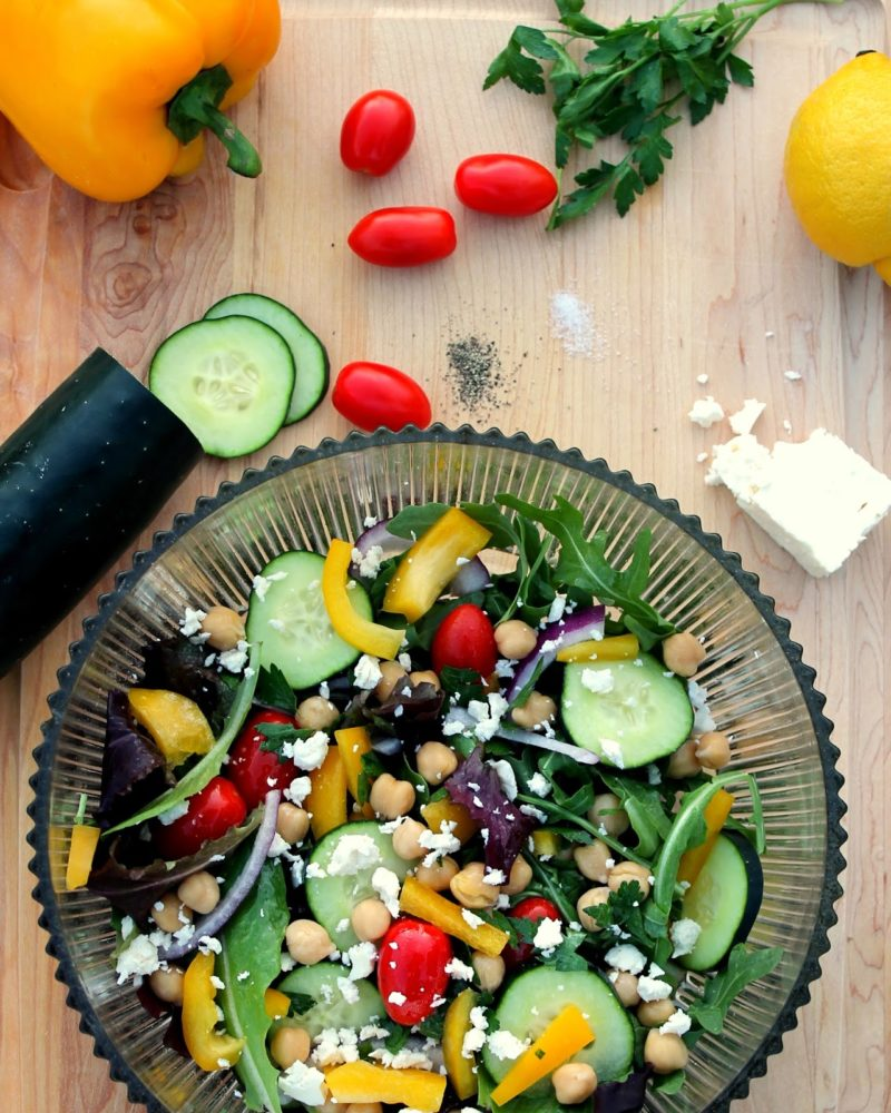 Loaded Greek Salad