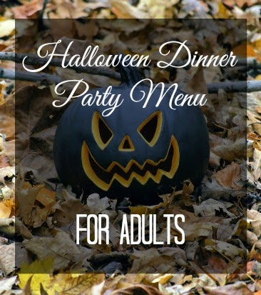 A Halloween Themed Dinner Party, for Adults