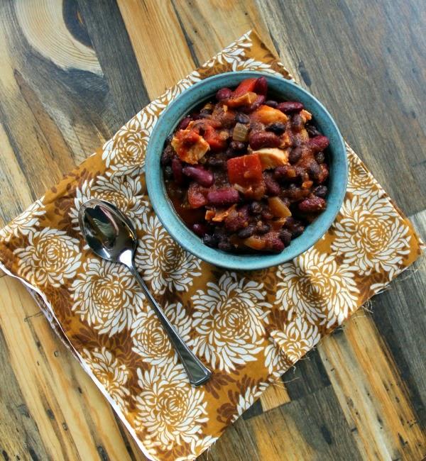 Maple Chipotle Turkey Chili