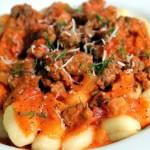 6 Ingredient Creamy Sausage Gnocchi