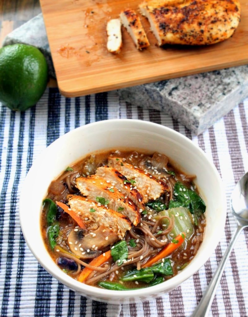 Panera's Soba Noodle Broth Bowl Recipe