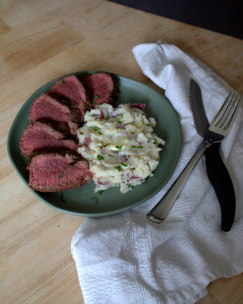 The Best Juicy Venison Loin - a simple recipe that results in a perfect loin every time.