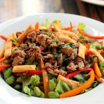 Thai Ground Chicken Salad
