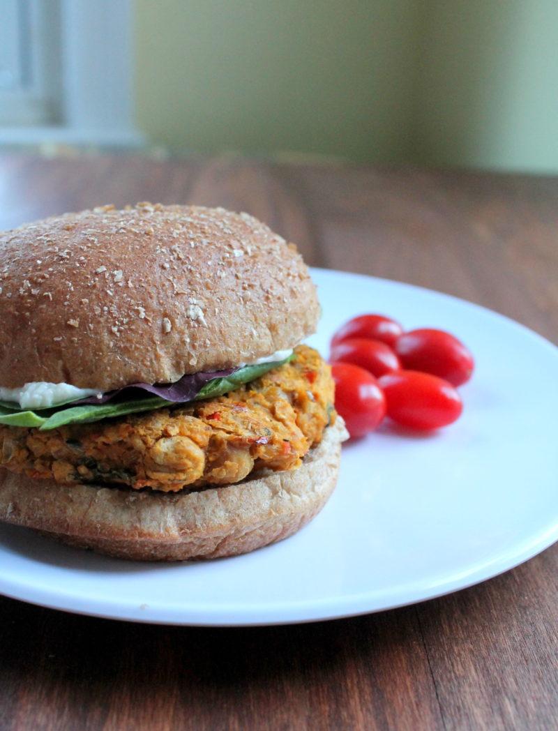 Blue apron lemongrass burger - Mediterranean Chickpea Burgers
