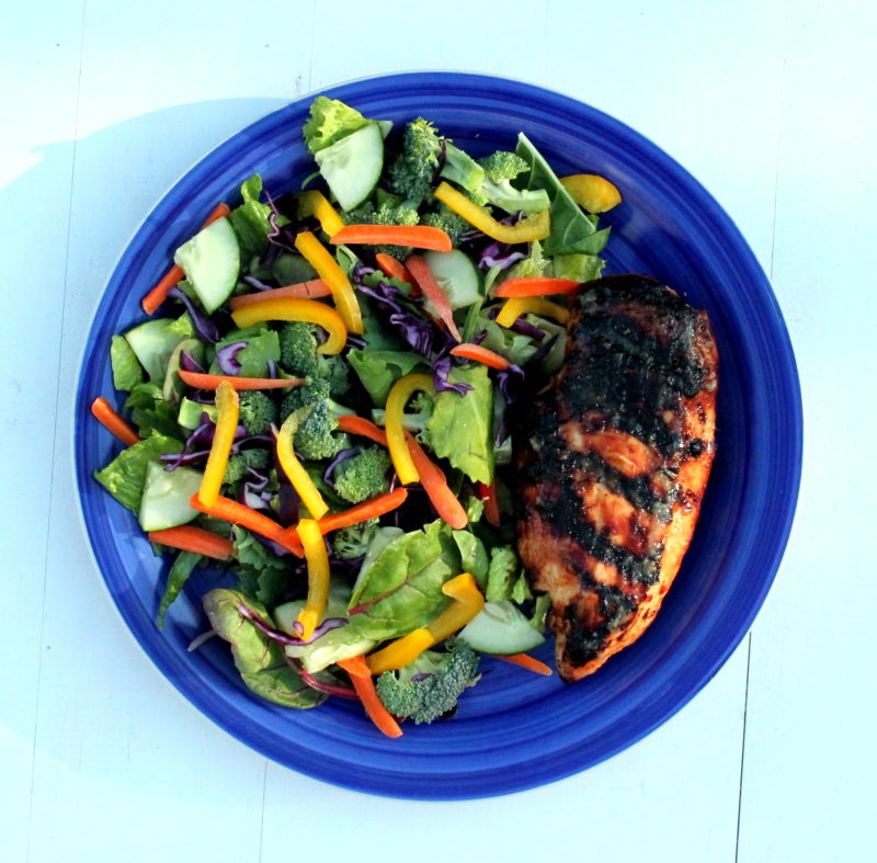 Sweet Chili Chicken Salad Recipe — Dishmaps