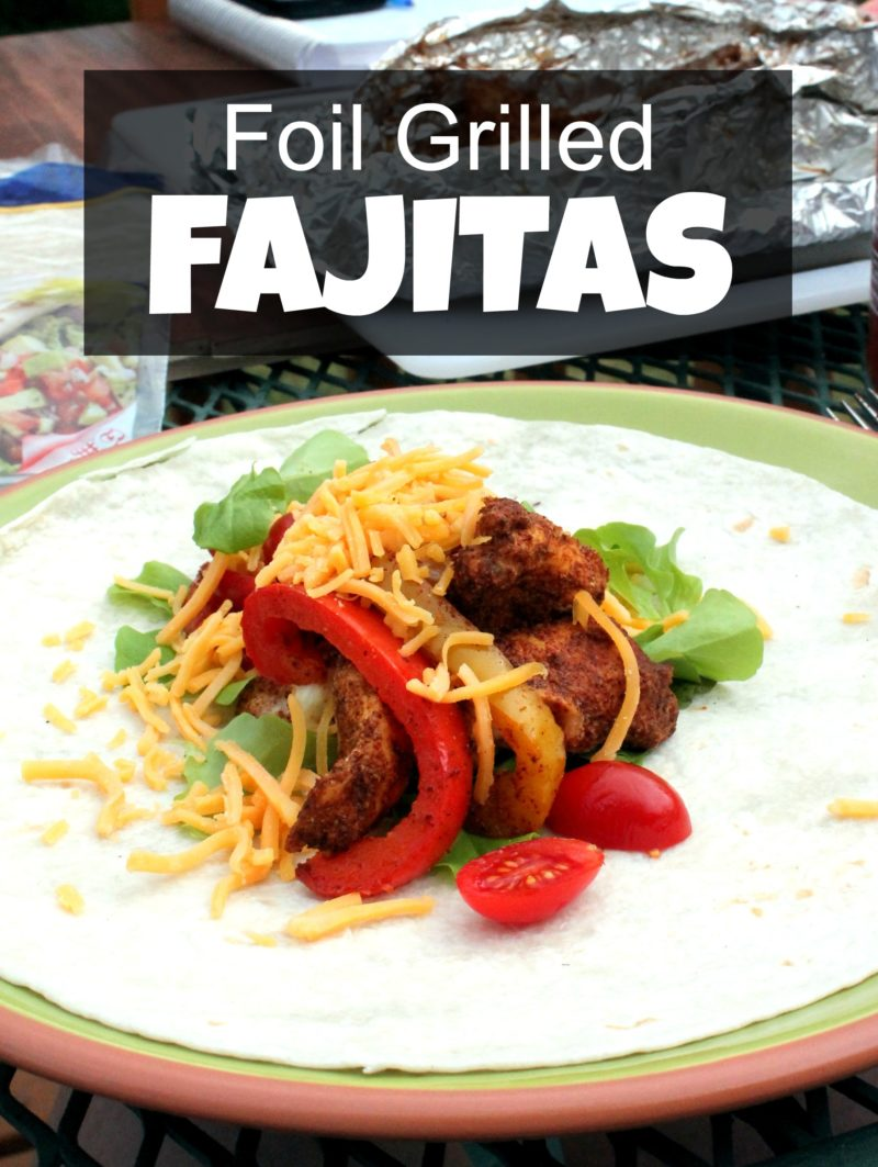 Foil Grilled Fajitas
