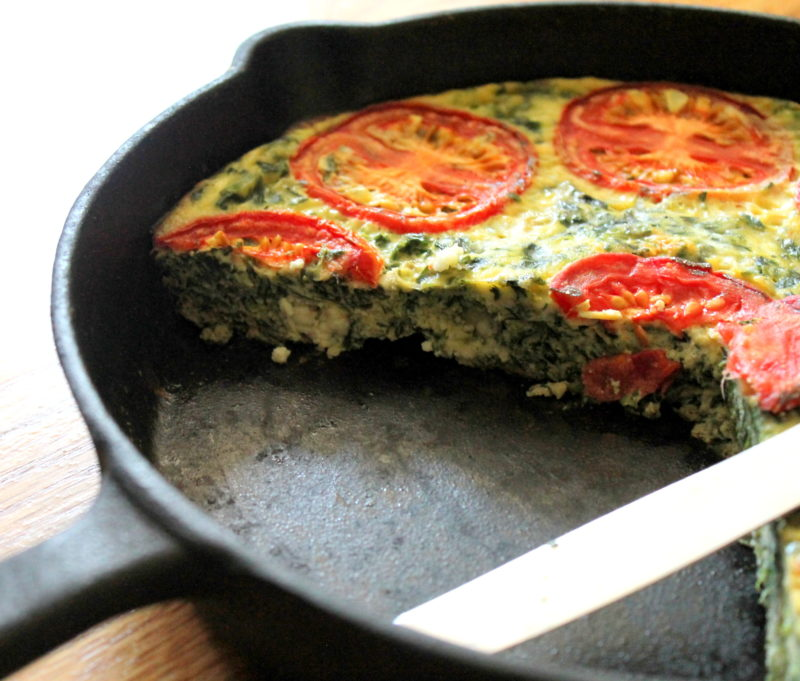 Spinach & Feta Egg Bake