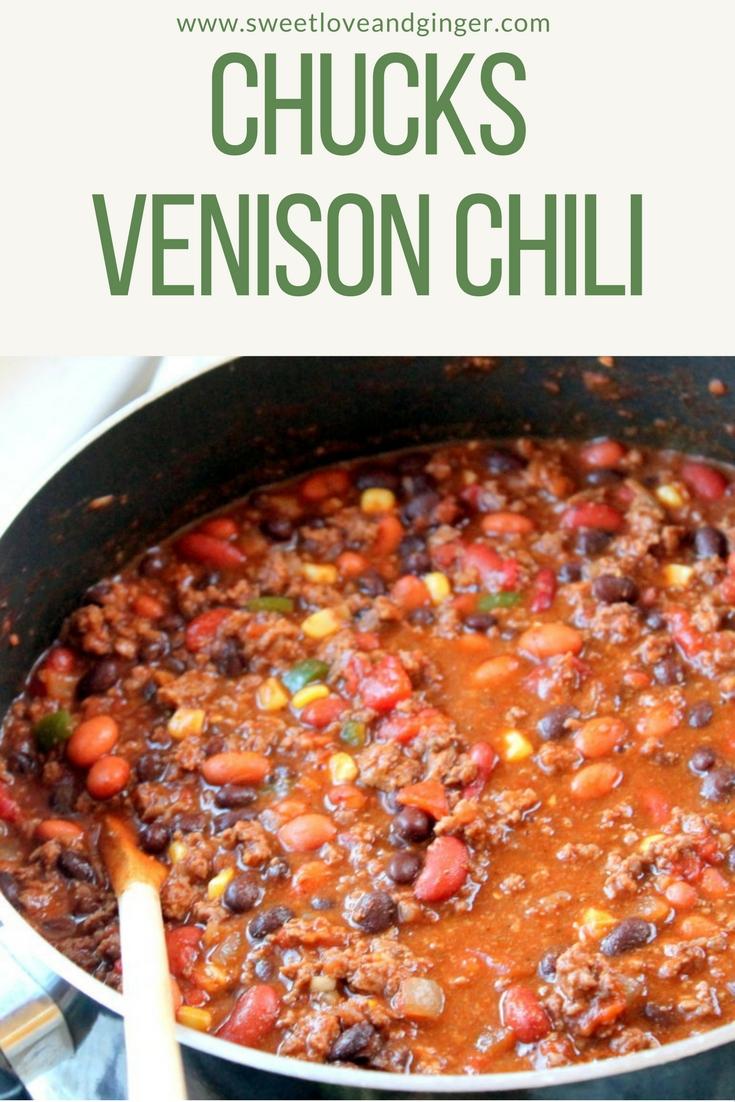 Chuck's Venison Chili Recipe