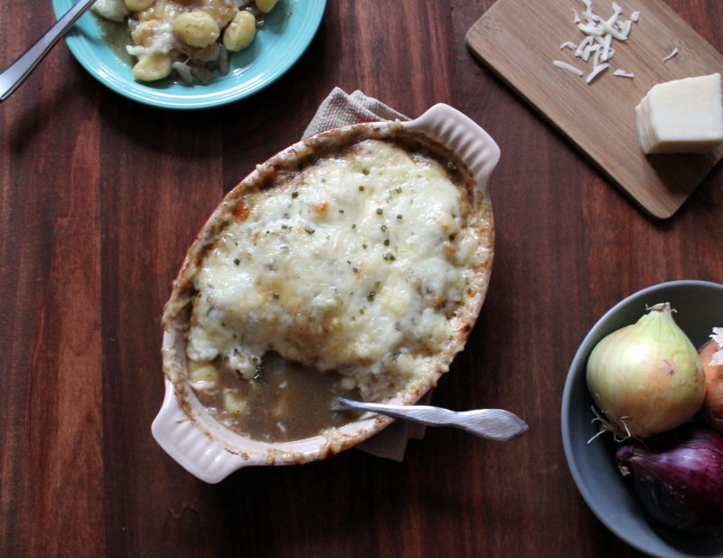 French Onion Gnocchi Recipe