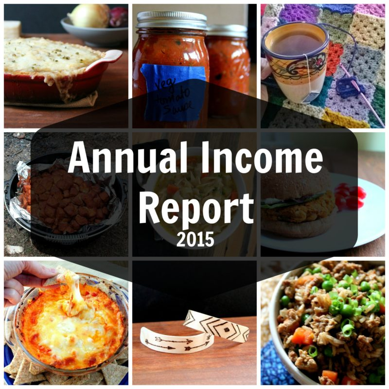Annual Income Report
