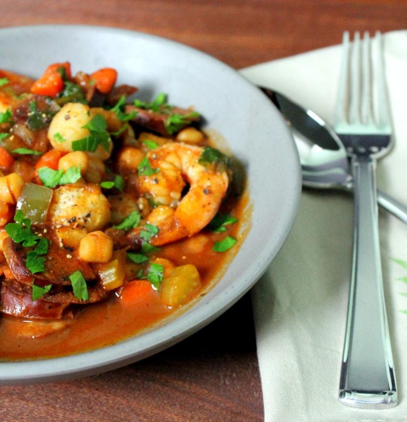 Spanish Style Seafood Stew