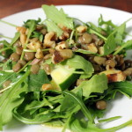 French Lentil & Arugula Salad