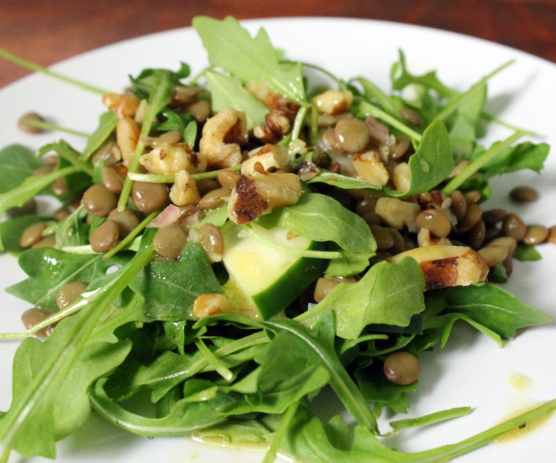 French Lentil and Arugula Salad