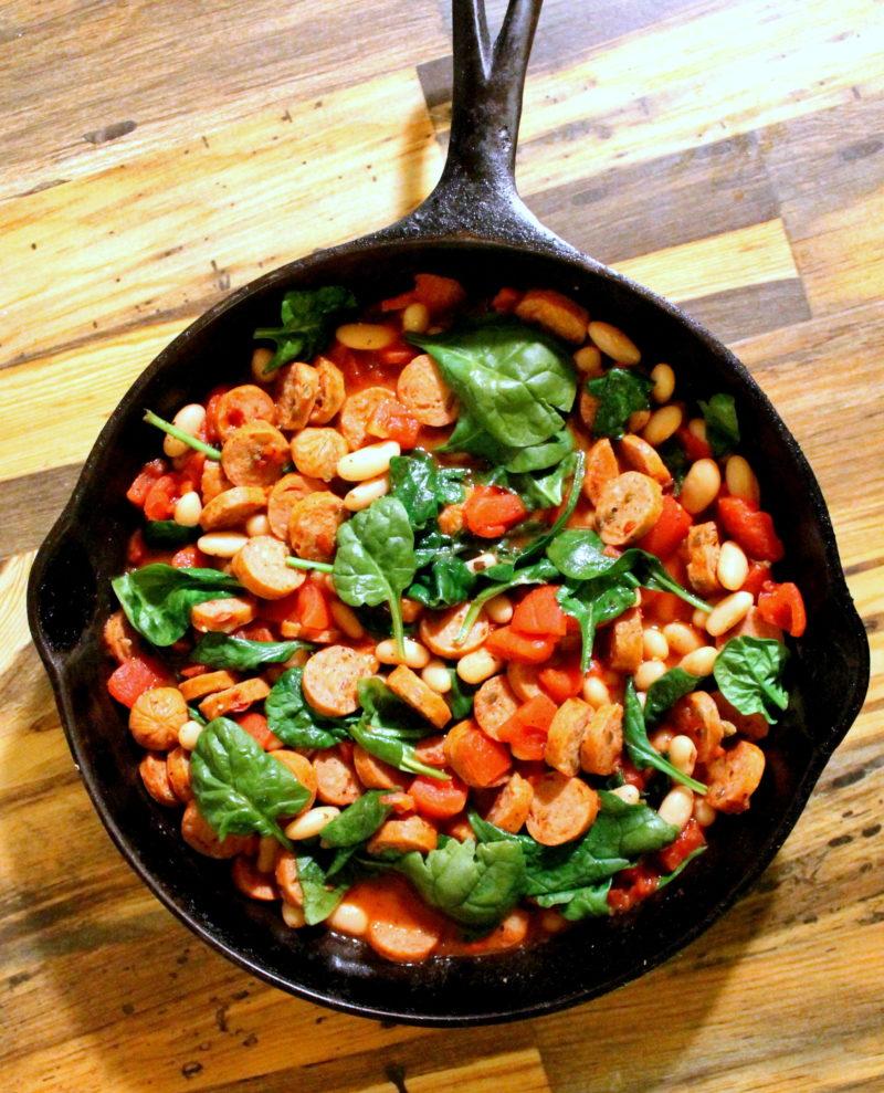 Sausage & Tomato Ruggout