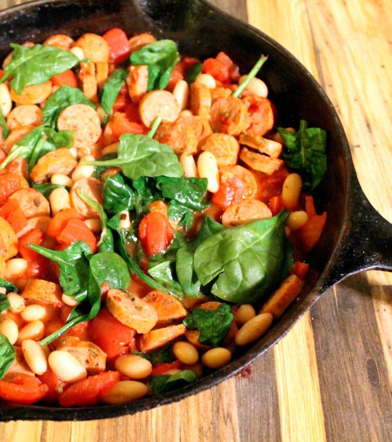 Sausage & Tomato Rugout
