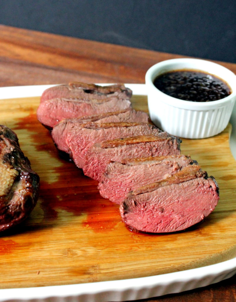Pan Seared Goose Breast with Cumberland Sauce