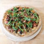 Fig & Prosciutto Pizza w Arugula