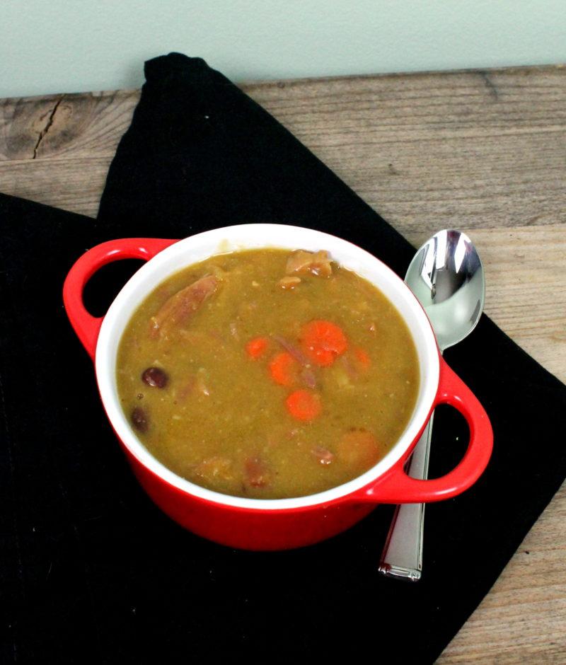 Pea Soup from Leftover Ham Bones