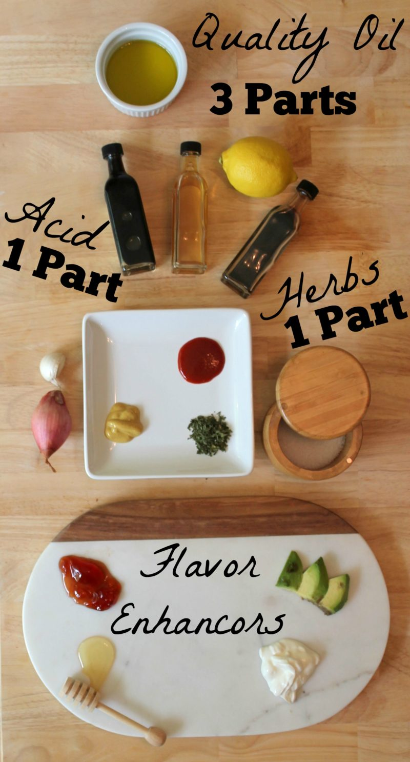 How to Make Salad Dressing from Scratch