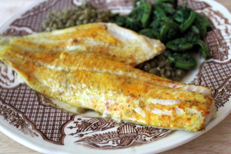 Turmeric Spiced Haddock