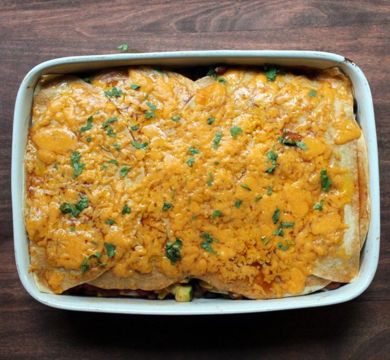 Very Veggie Enchilada Casserole
