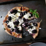Blackberry Pizza with Ricotta & Basil