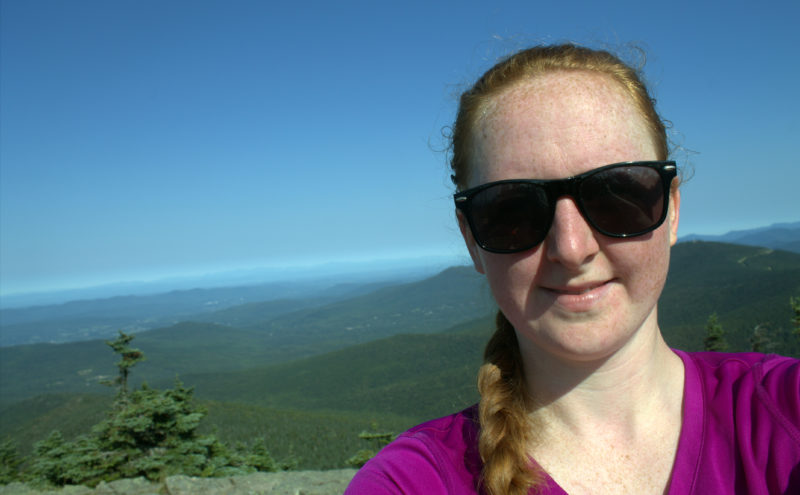 Me Hiking Mount Killington