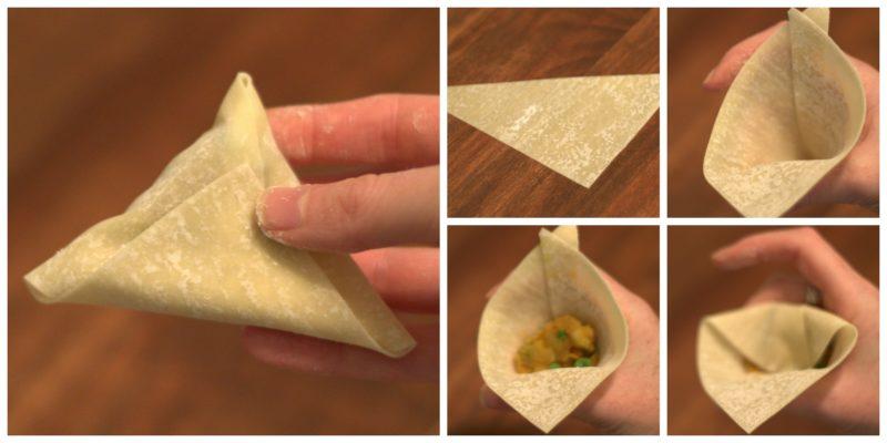 How to make a samosa