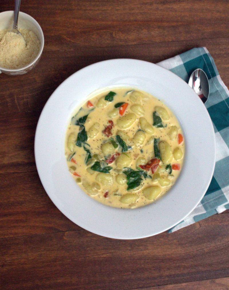 Creamy Vegetable Gnocchi Soup