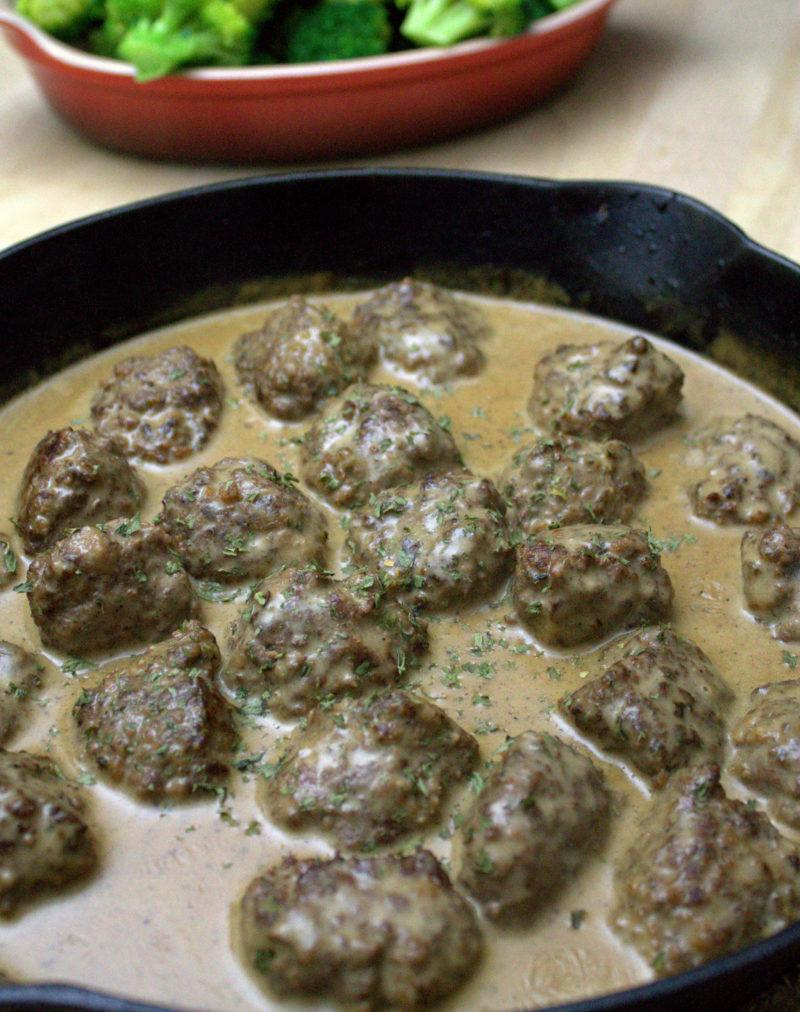 Venison Swedish Meatballs
