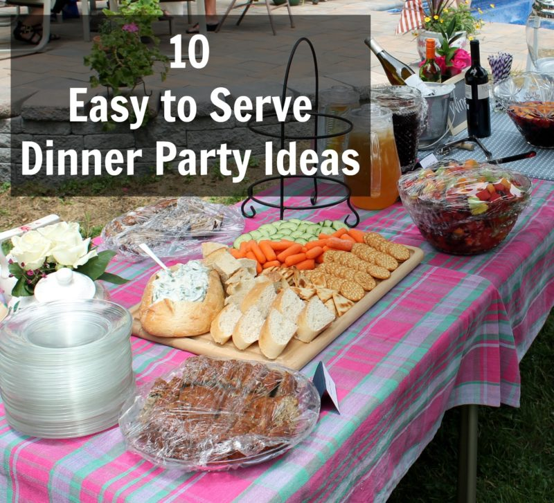 Wonderful February Dinner Party Ideas Part - 6: 10 Easy To Serve Dinner Party Ideas