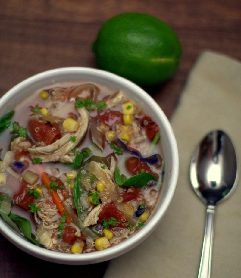 Panera's Southwest Chicken Tortilla Bowl