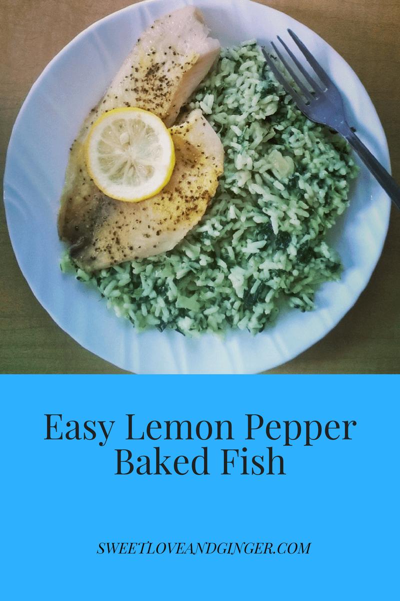 Easy Lemon Pepper Baked Fish