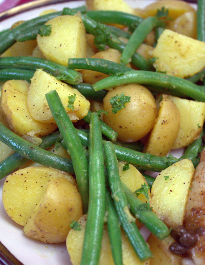French Style Potato and Green Bean Salad