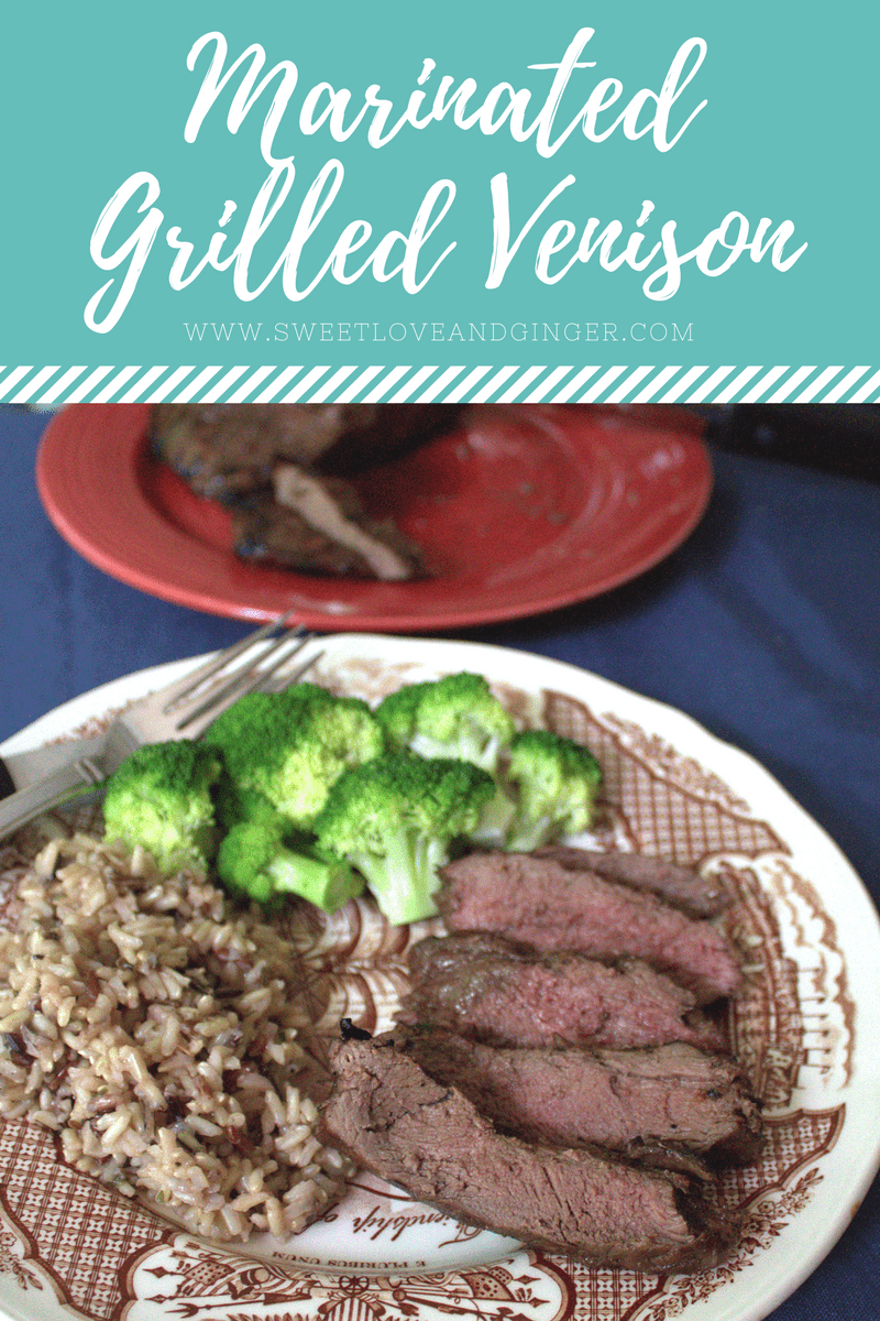 Marinated Grilled Venison Recipe
