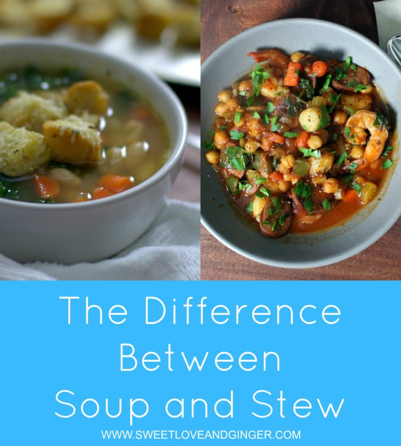 difference between Soup and Stew
