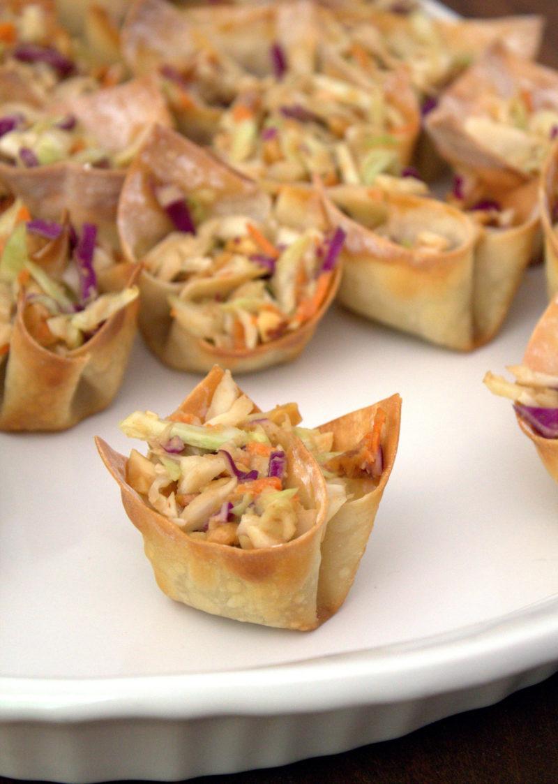 Thai Peanut Salad Cups