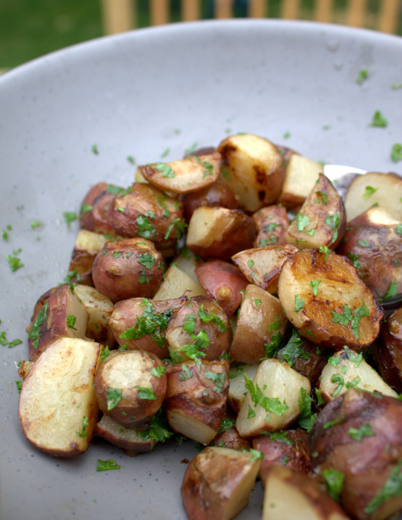 Jerusalem Artichokes with Lemon & Herbs