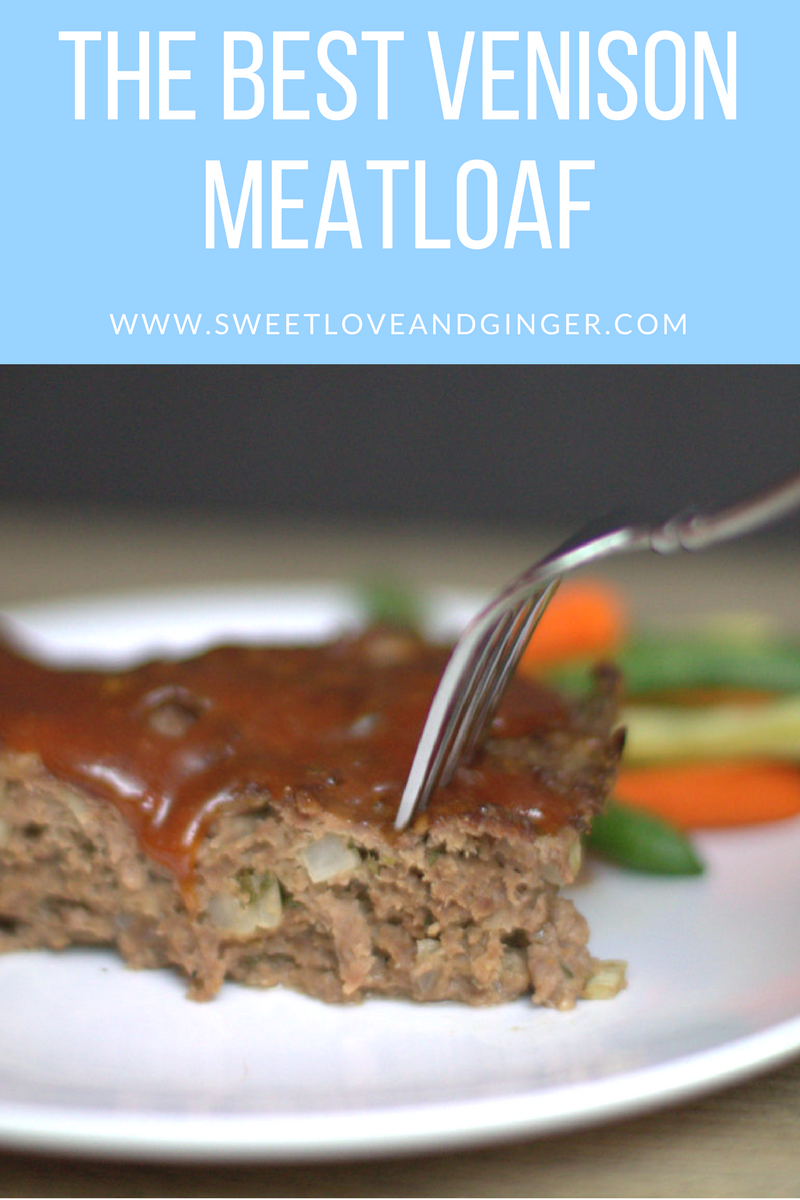 The Best Venison Meatloaf - A simple and delicious recipe for an American Classic